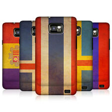 HEAD CASE DESIGNS VINTAGE FLAGS SET 4 CASE COVER FOR SAMSUNG GALAXY S2 II I9100