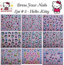 Hello Kitty Nail Stickers-Art/Decal/3d Cartoon Little Kitty Childrens Nail - #2