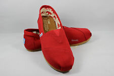 4d22774c15 TOMS Women's Classics Ash, Black, Chocolate, Navy, Olive, Red Canvas Shoes