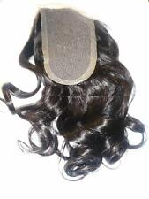Full Lace Weave Closure Human Indian Remy Remi Body Wave Hair Partial Wig