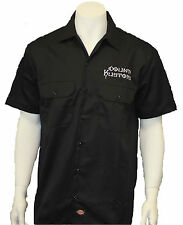 Count's Kustoms Dickies Embroidered Workshirt Black AS SEEN ON TV COUNTING CARS