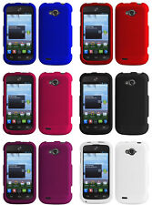 NEW RUBBERIZED PROTEX HARD CASE PROTECTOR COVER FOR ZTE SAVVY Z750C PHONE SAVY