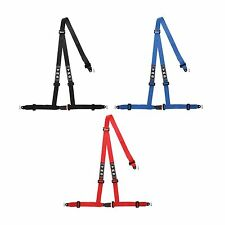 """TRS 3 Point Budget ECE Approved 2"""" Club Bolt In Trackday/Race/Autograss Harness"""