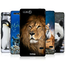 HEAD CASE WILDLIFE PROTECTIVE SNAP-ON BACK CASE COVER FOR SONY XPERIA GO ST27i