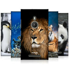 HEAD CASE WILDLIFE PROTECTIVE SNAP-ON HARD BACK CASE COVER FOR NOKIA LUMIA 925