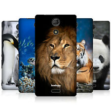 HEAD CASE WILDLIFE PROTECTIVE SNAP-ON HARD BACK CASE COVER FOR SONY XPERIA ZR