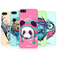 HEAD CASE FAUNA HIPSTERS PROTECTIVE HARD BACK CASE COVER FOR APPLE iPHONE 5 5S