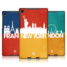 HEAD CASE SKYLINE SERIES 2 BACK CASE COVER FOR ASUS GOOGLE NEXUS 7 2013 WIFI