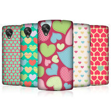 HEAD CASE HEART PATTERN PROTECTIVE BACK CASE COVER FOR LG GOOGLE NEXUS 5 D821