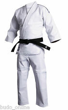 Adidas Mens Ladies Judo Suit 'Training' Uniform Heavyweight White Gi 500g J500