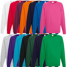 Herren Sweatshirt Fruit of the Loom Pullover Shirt Pulli Jacke I S M L XL XXL