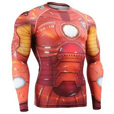 FIXGEAR CFL-8 Compression Base Layer Shirt Under Skin Tight Gym Training MMA