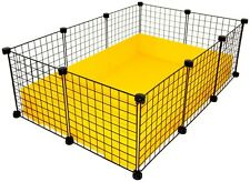 NEW Cube & Coroplast Guinea Pig Cage 2x3 Grid C&C - Small