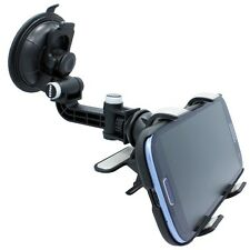 MULTI-ANGLE ROTATING CAR MOUNT WINDOW DOCK HOLDER CRADLE for T-MOBILE CELL PHONE