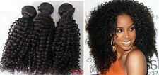 100% UNPROCESSED VIRGIN REMY MONGOLIAN AFRO KINKY TIGHT CURLS 6A HAIR EXTENSIONS