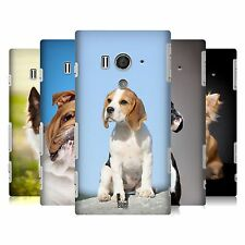 HEAD CASE DESIGNS DOG BREEDS CASE COVER FOR SONY XPERIA ACRO S LT26W