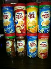 Nestle Coffee Mate Flavors  Powder Creamer 3 Tubs You choose From 8 Flavors