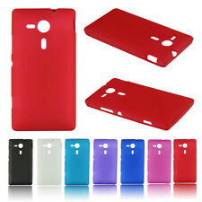 Matte TPU Silicone Gel Case Cover For Sony Xperia SP M35h
