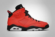 NIKE AIR JORDAN VI 6 TORO US 7 8 9 10 11 12 13 2014 RETRO RED INFRARED BLACK DMP