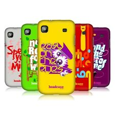 HEAD CASE DESIGNS IDIOMS RELOADED BACK CASE FOR SAMSUNG GALAXY S I9000 I9001