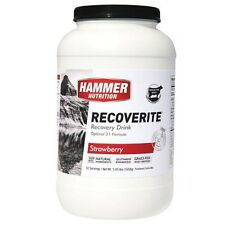 NEW HAMMER NUTRITION RECOVERITE 32 SERVING LARGE JUG RECOVERY DRINK POST WORKOUT