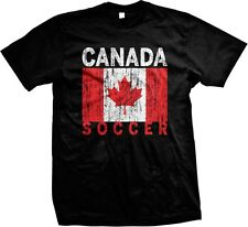 Canada Soccer Flag Canadian World Cup Nationality Ethnic Pride-Mens T-shirt