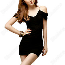 Women'S Mini Charming Fashion Sexy Cocktail Clubwear Party Off Shoulder Dresses