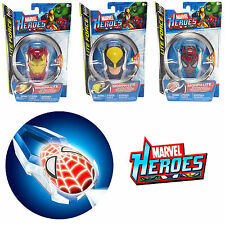 MARVEL HEROES MORPH LIGHT TORCH SPIDERMAN WOLVERINE IRON MAN NOVELTY CLIP TOY