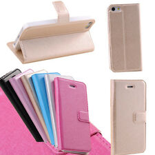 Magnetic Flip Leather Hard Cover Wallet Pouch Case For Apple iphone 4 4s 5 5c 5s