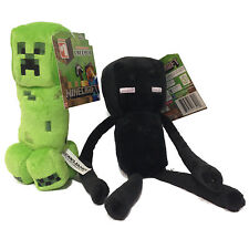 MINECRAFT SOFT PLUSH TOY CREEPER ENDERMAN OFFICIAL LICENSED MOJANG RARE TOY NEW