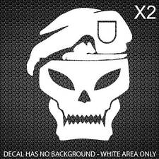 Call of Duty Black Ops Skull Decal COD [30x25mm] [Set of 4]