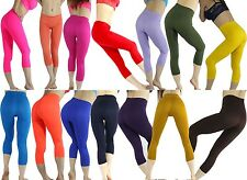 Sexy Tight Pant Legging Jegging Capris Pant Mid-Calf Length Yoga Cloth Running