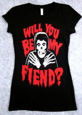 MISFITS T-shirt Womens Juniors  Will You Be My FIEND? Tee Danzig Horror Punk
