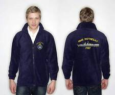 Type 12 Rothesay Class Fleece Embroidered with Large Ship's Profile