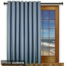 Glasgow Grommet 84inch Extra Wide Curtain Panel