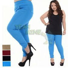Plus Size Multi-color Tights Leggings Pants Skinny Jeans Trousers1X/2X/3X/4X