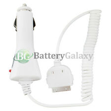 20X 25X 50X 100X Pack Lot BG Car Charger for Apple iPod Classic 3G 4G 5G 6G 7G