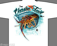 Amphibious Outfitters T-Shirt - Chasing Tail - Lobster - White - Scuba