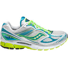 WOMENS SAUCONY GUIDE 7 WHITE / TEAL / CITRON SHOES SIZE 5-12 10227-2