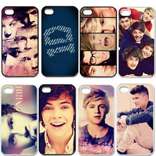 Fit For iPhone 4 4S 5 5S 5C Hard Cover Case With Cool Boy Pop Band One Direction