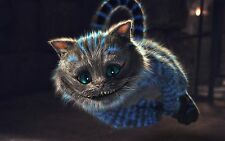 CHESHIRE CAT ALICE IN WONDERLAND GIANT wall Art Poster A1,A2,A3,A4 KIDS ROOM CC2