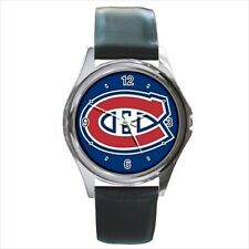 Montreal Canadiens Hockey - Leather or Metal Watches (10 Styles)-AA5149