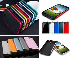Hard Frame Soft Rubber Case Cover Protector For Samsung Galaxy S IV S4 i9500