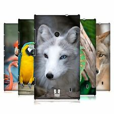 HEAD CASE DESIGNS FAMOUS ANIMALS HARD BACK CASE COVER FOR NOKIA LUMIA 520
