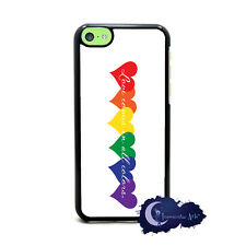 Love Comes In All Colors - Case for iPhone 5c, Case Cell Cover - LGBT Pride