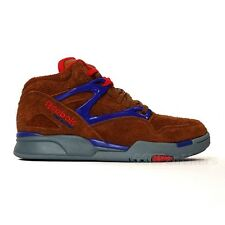 Reebok Pump Omni Lite (BROWN MALT/TECHY RED/FEARLESS PURPLE) Men's Shoes V53791