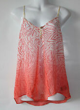 New Anthropologie by Sanctuary Clothing Sleeveless Print Top Shirt, Size XS