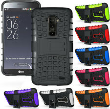 NEW GRENADE GRIP RUGGED TPU SKIN HARD CASE COVER STAND FOR LG G FLEX F340 D958