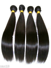 Virgin Indian Remy Body wave Human Hair Extension weave Natural Color weft bundl