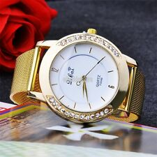 EFFU Fashion New Hot Women Wrist Quartz Watch Dress Watch golden color New Lady